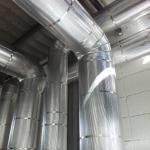 Isolamento térmico alumínio corrugado