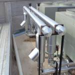 Isolamento térmico para tubulação de água gelada