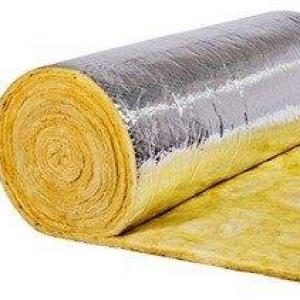 Isolamento térmico com lã de vidro