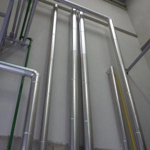 Isolamento térmico para tubulação de água quente
