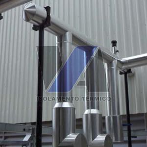 Isolante térmico para tubos de pvc